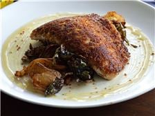 Apple Crusted White Fish